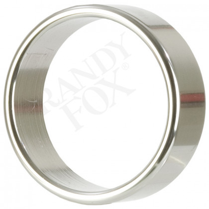 Alloy Metallic Ring Xl Silver