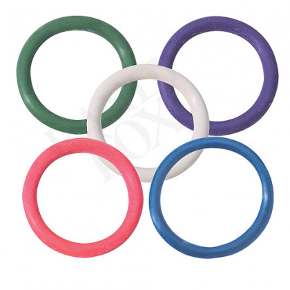 1.25 Inch Rainbow Cock Rings