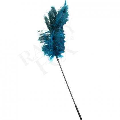 Ostrich Feather Tickler - Teal