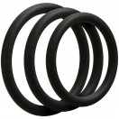 OptiMALE 3 C Ring Set Thin - Black