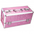 Lockable Vibrator Case Large - Pink