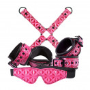 New Sensations Novelties Sinful - Bondage Kit - Pink