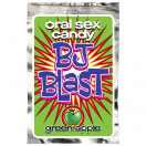 PipeDream Oral Sex Aid BJ Blast Oral Sex Candy - Green Apple - Green