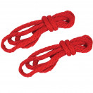 Sex & Mischief Silky Rope Kit - Red