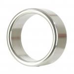 Alloy Metallic Ring Medium Silver